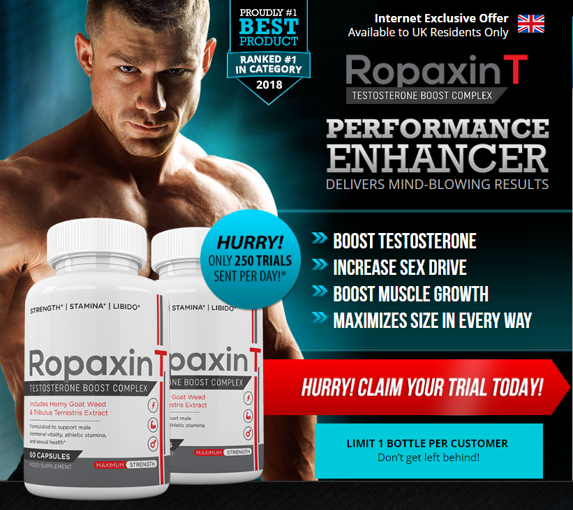 RopaxinT Testosterone Boost Complex-Read About Side Effects,Price & Where To Buy?