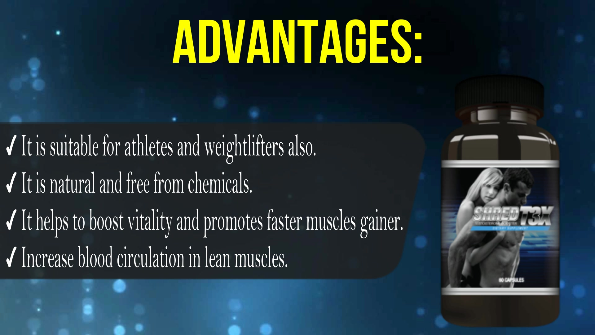 Shred T3X – 100% Natural High Performance Booster!