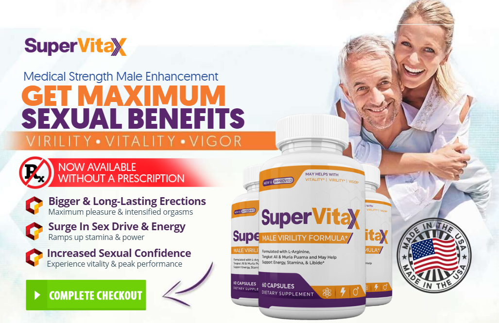 Super VitaX Male Enhancement – Does It Work To Boost Sexual Desire?