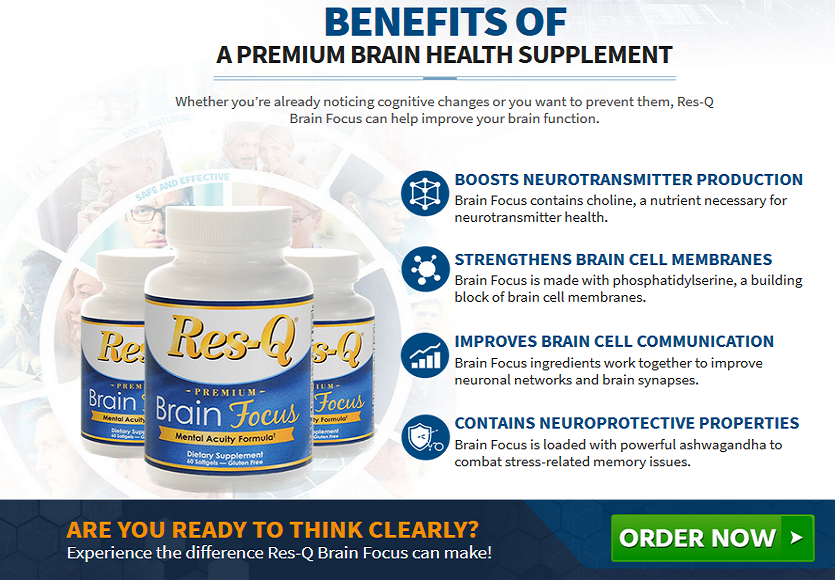 Res Q Brain Focus Review – Makes Our Brain Healthy And Active!