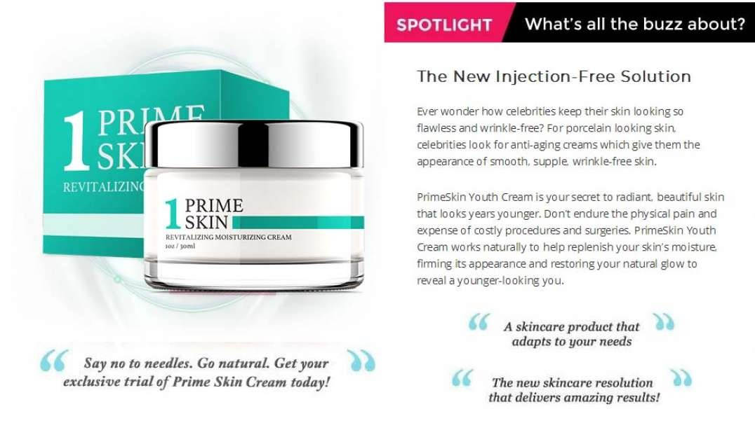 Prime Skin Cream Review – Know How This Cream Works On Your Skin?