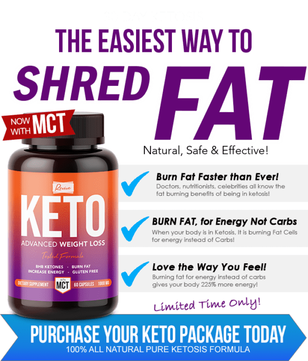 Revive Keto – Boost Metabolism And Easily Lose Weight With Ketosis!