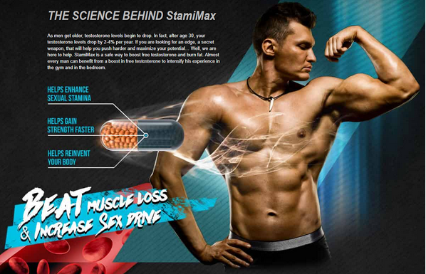 StamiMax Review: Testosterone Booster Usage & Benefits